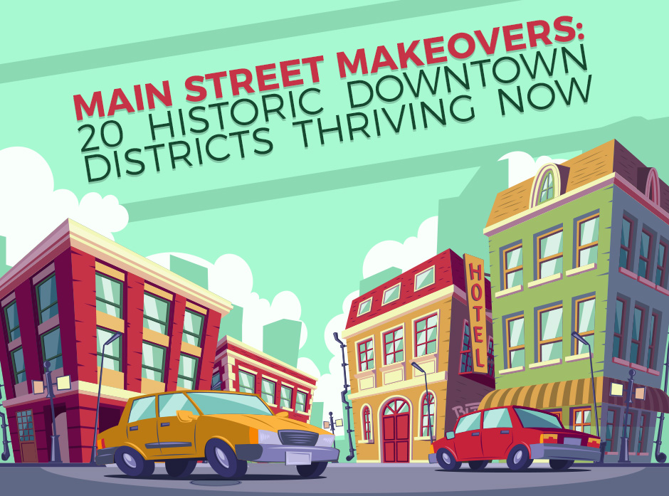 Historic Downtown Districts Image