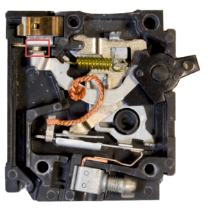 circuit breaker contacts